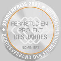 ATN Akademie - nominiert für Fernstudienprojekt des Jahres 2021