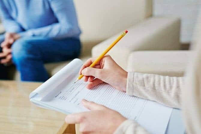 Heilpraktiker für Psychotherapie Ausbildung - Diagnosestellung für Patient