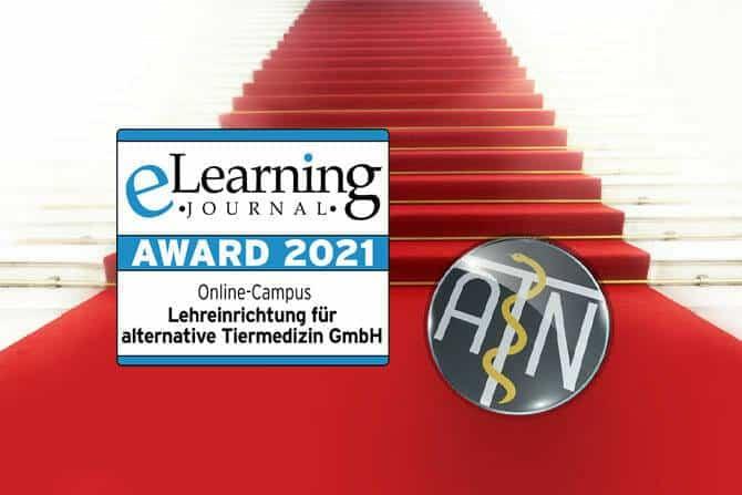 ATN Auszeichnungen - eLearning Award 2021 ATN ATM auf rotem Teppich