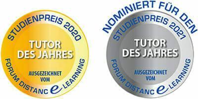 ATN Akademie - Studienpreis 2020 und nominiert für Tutor des Jahres 2021