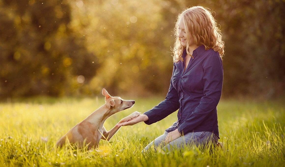 Hundetrainerin Maria Ebeling